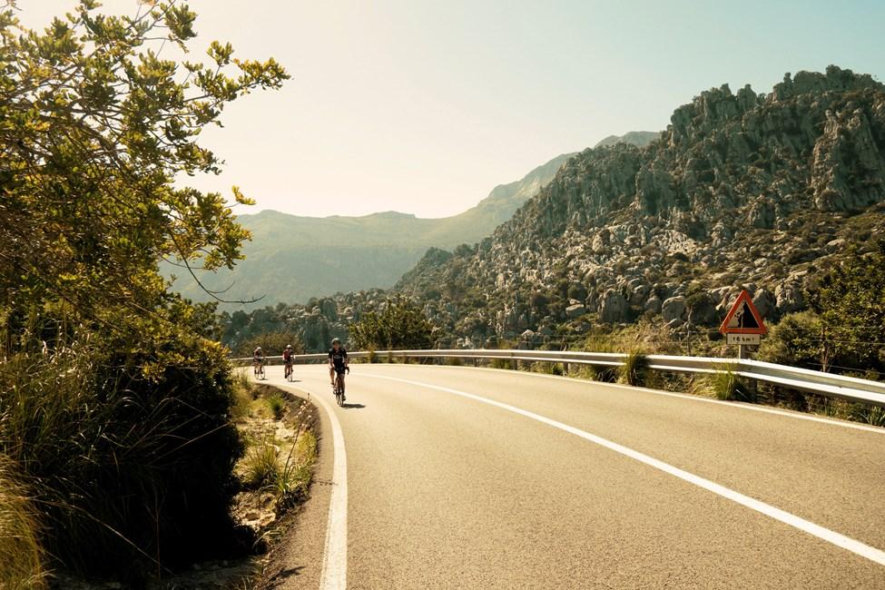 Triathlontreenausta Mallorcalla