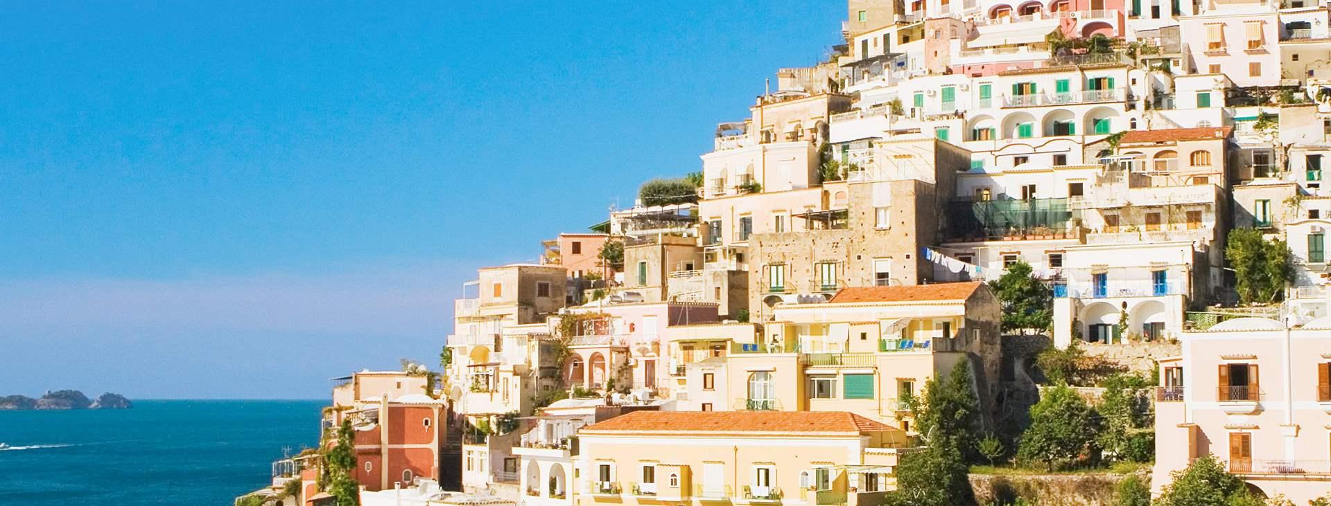 Varaa Tjäreborgin matka Amalfin rannikolle