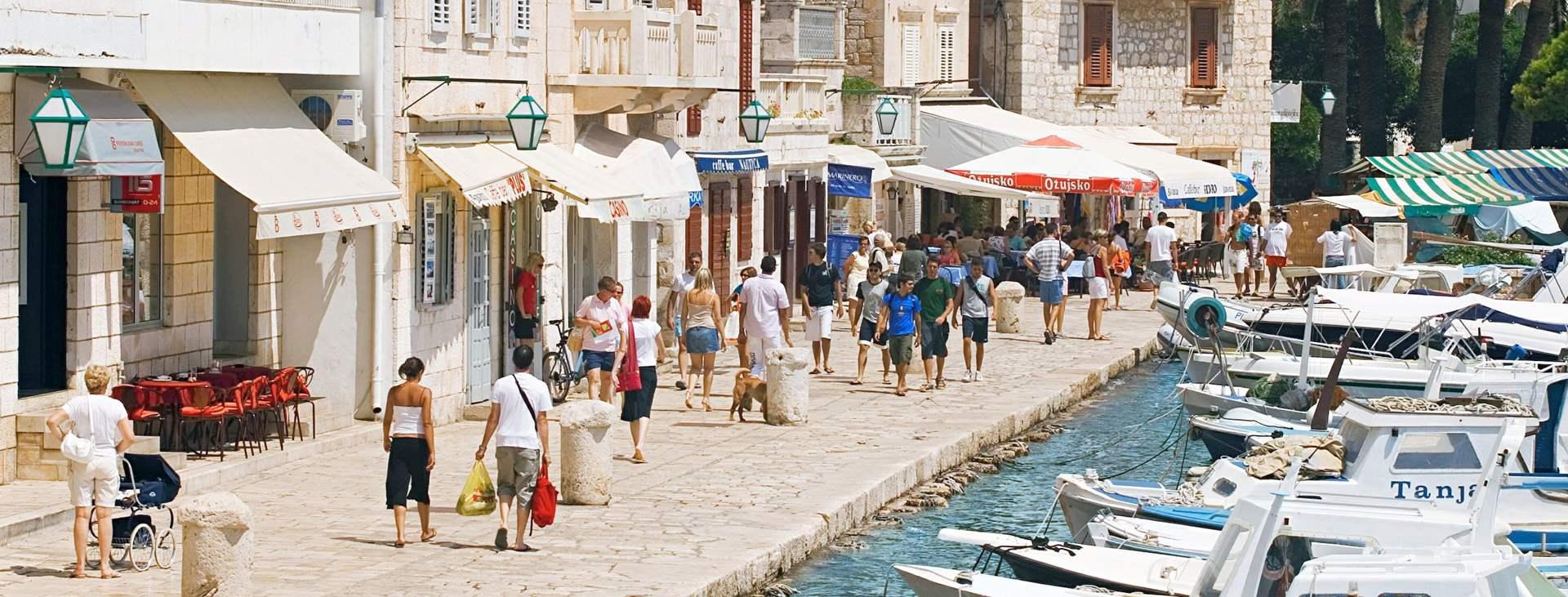 Matkoja Hvarin saarelle, Kroatiaan