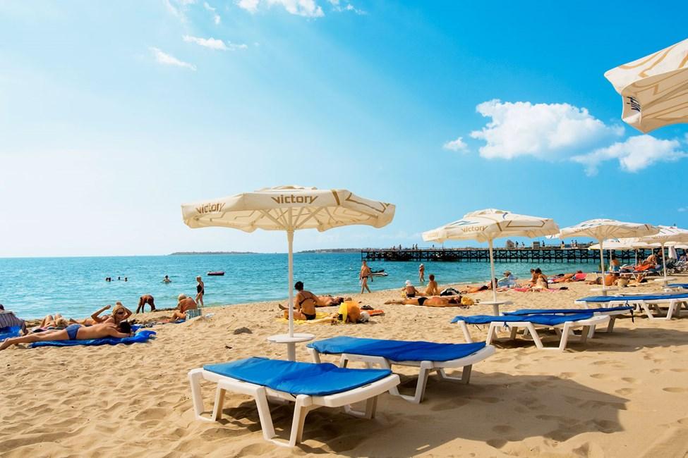Sunny Beachin ranta