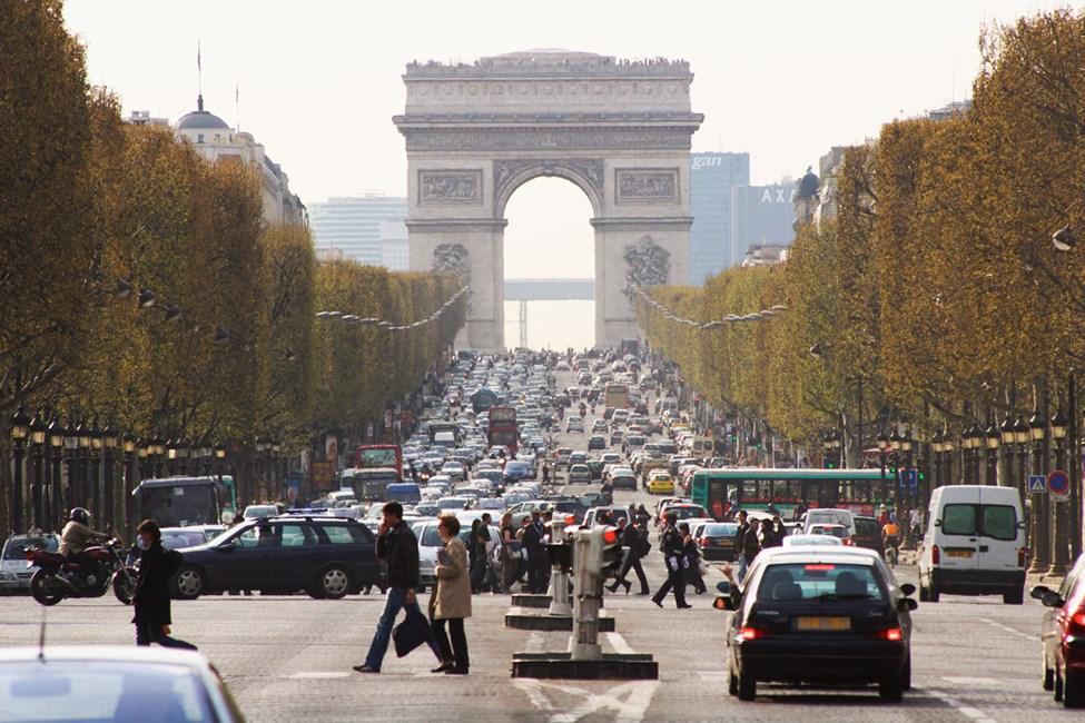 Champs-Élysées ja Riemukaari, Pariisi