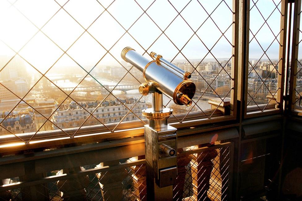 Näkymät Eiffel-tornista Pariisissa
