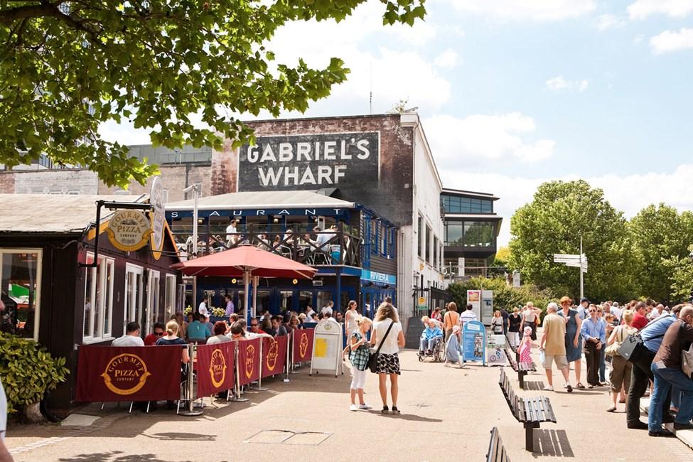 Gabriel's Wharf, Lontoo