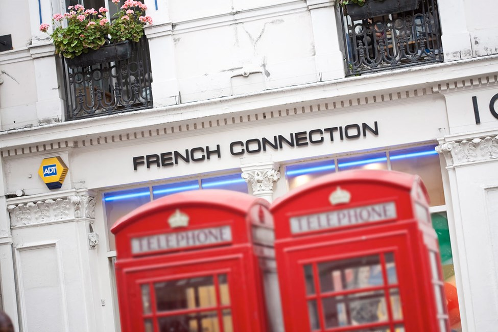 French Connection, Off Oxford Street, Lontoo