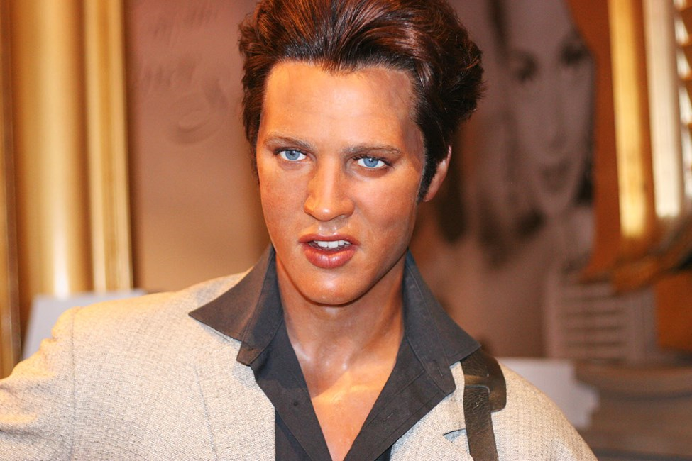 Elvis Presley Madame Tussaud -museossa, Lontoossa