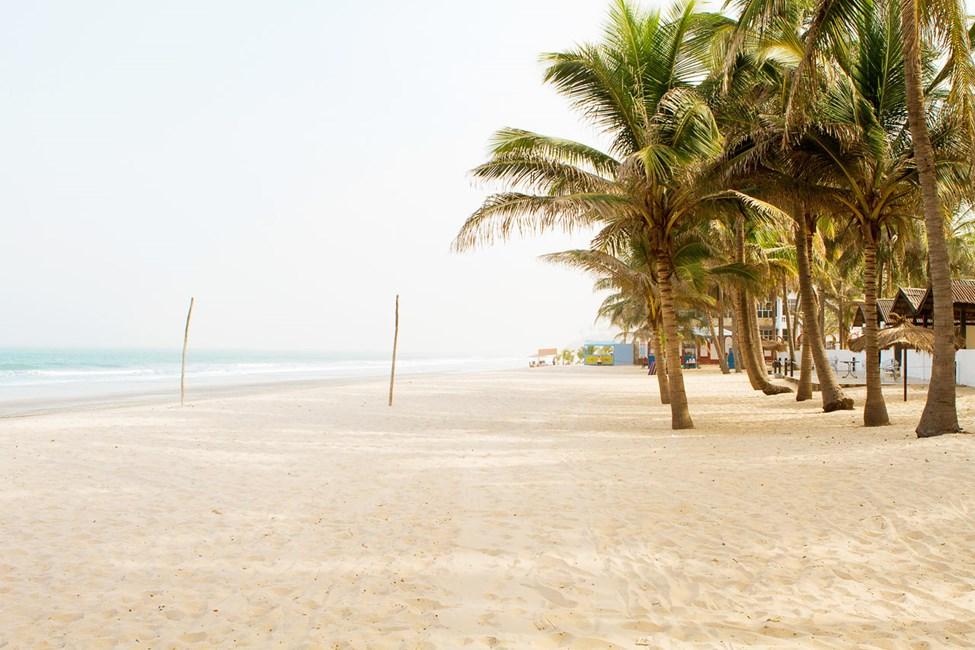 Ranta Bungalow Beach -hotellin luona