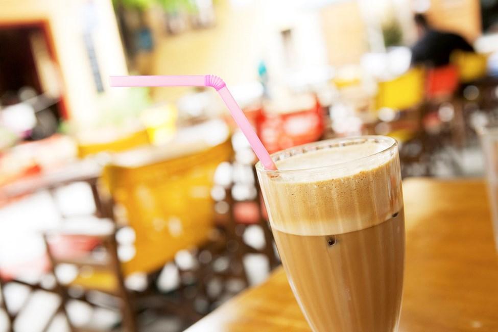 Frappé - jääkylmä kahvijuoma