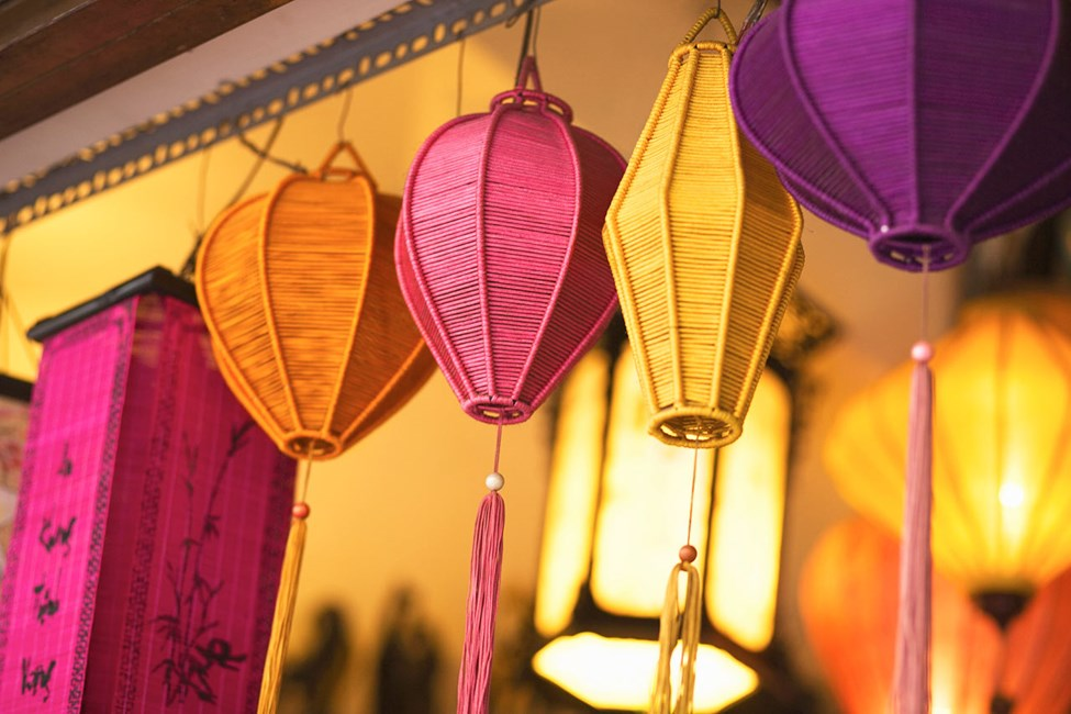 Lamppukauppa, Saigon (Ho Chi Min City), Vietnam.
