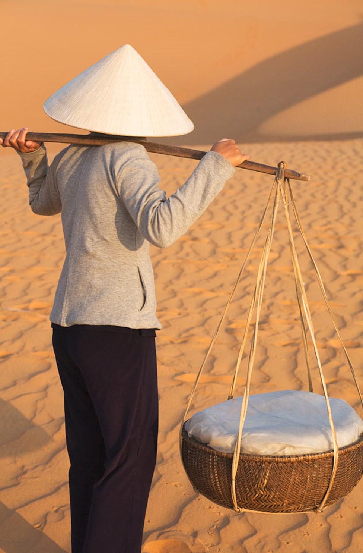 Punaiset hiekkadyynit, Mui ne, Phan Thiet, Vietnam