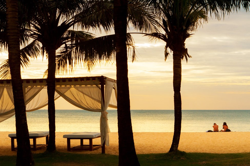 Eden Resortin ranta, Phu Quocissa
