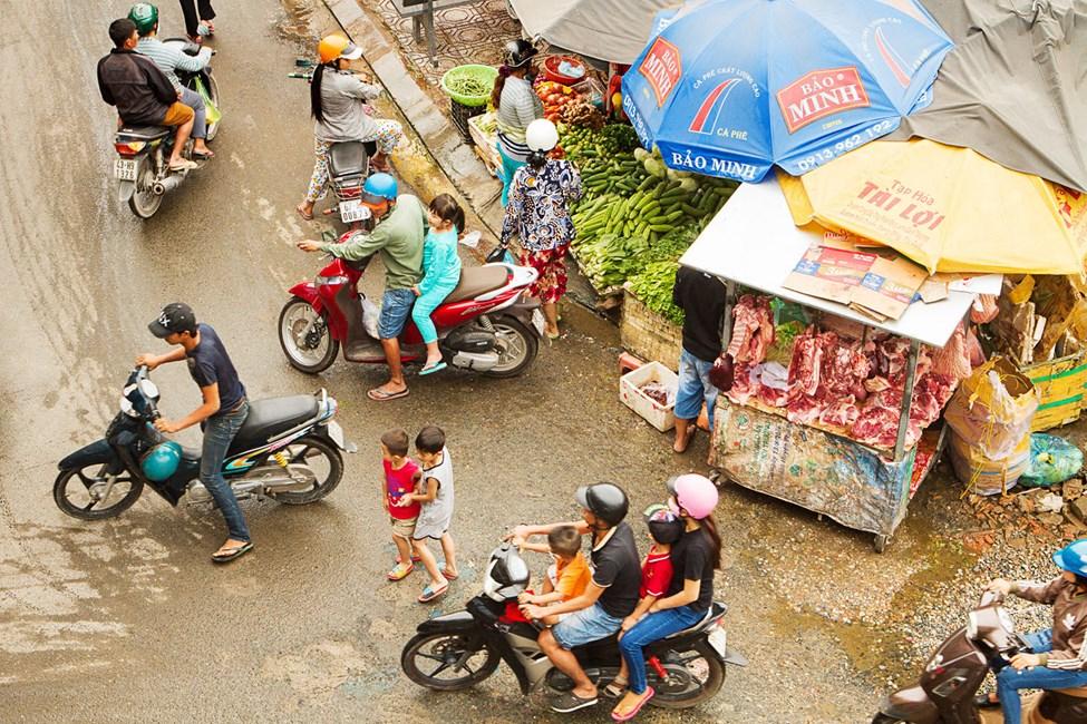 Doung Dong Day Market -markkinat, Phu Quocissa