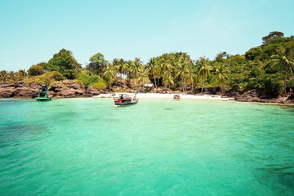 Snorklausretki An Thoi Islands -saarille