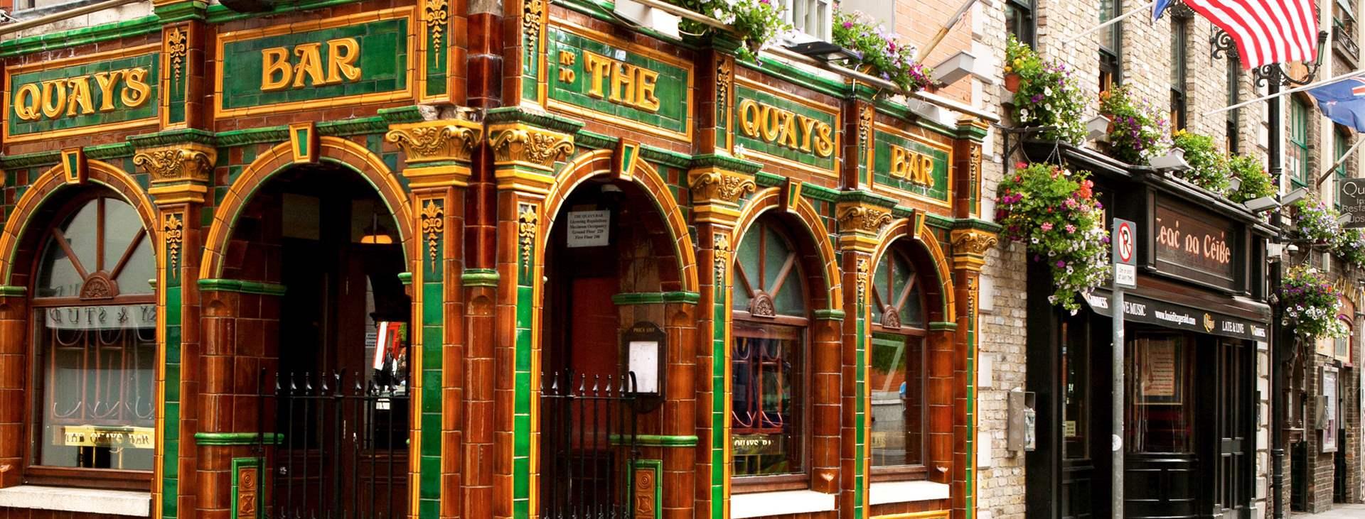 Baarialue Temple Bar, Dublin