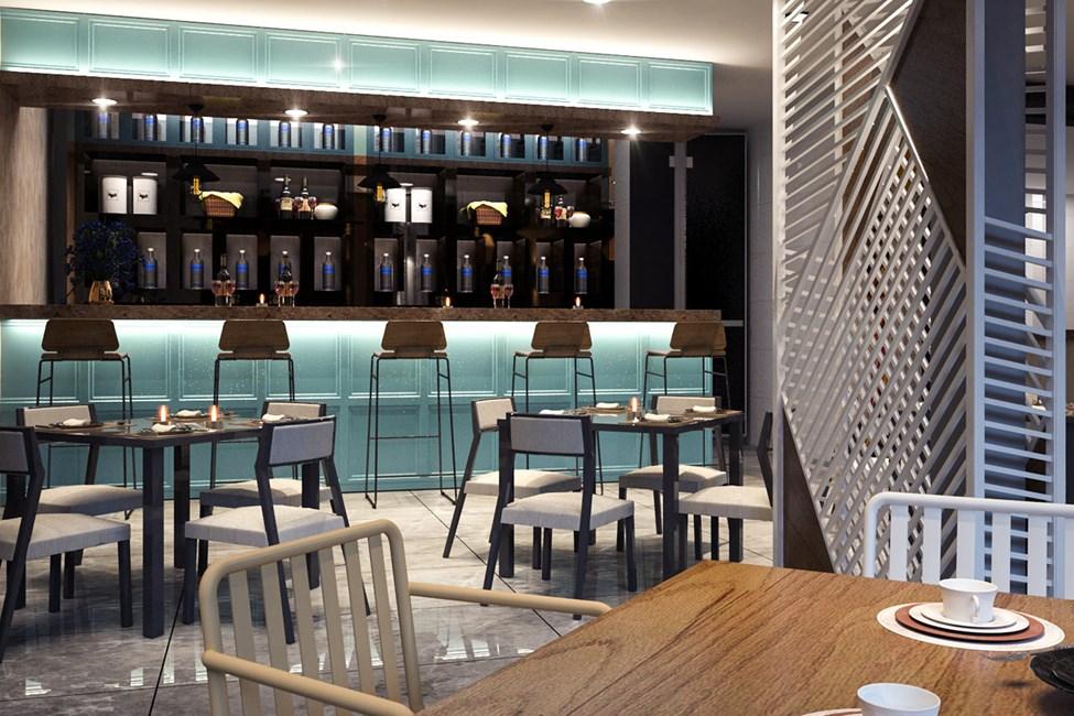À la carte -ravintola - Havainnekuva, joka saattaa vielä muuttua