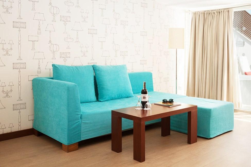 Penthouse Suite, parveke ja rajoitettu merinäköala