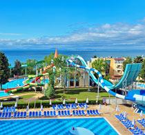Lapsiystävällinen hotelli Sol Nessebar Mare.