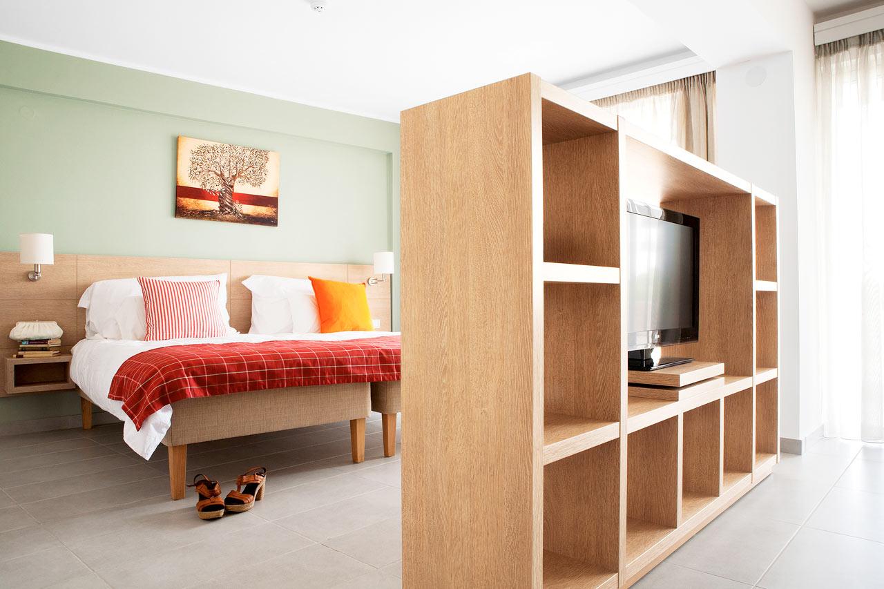 Classic Suite - yhdistetty olo- ja makuuhuone. Sinulle, joka kaipaat paljon tilaa ympärillesi.