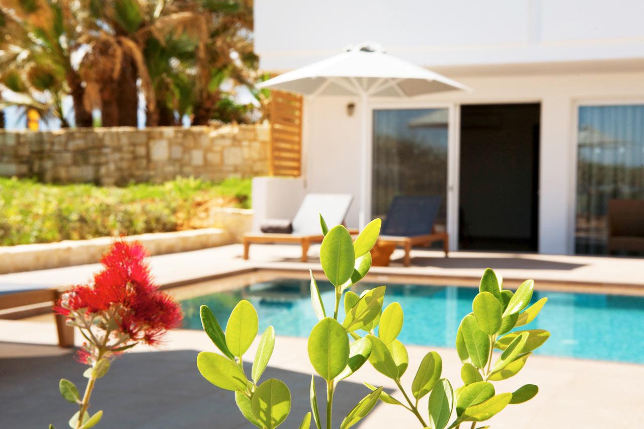 Classic Suite ja terassilta suora pääsy uima-altaaseen