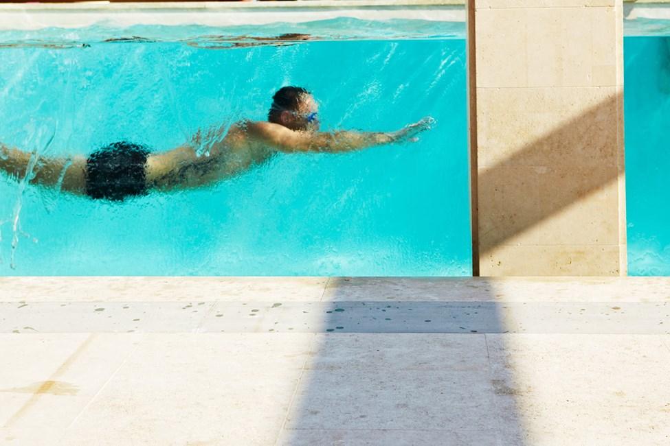 Avra Imperial Hotel -hotellin uima-allas on jotain täysin erilaista