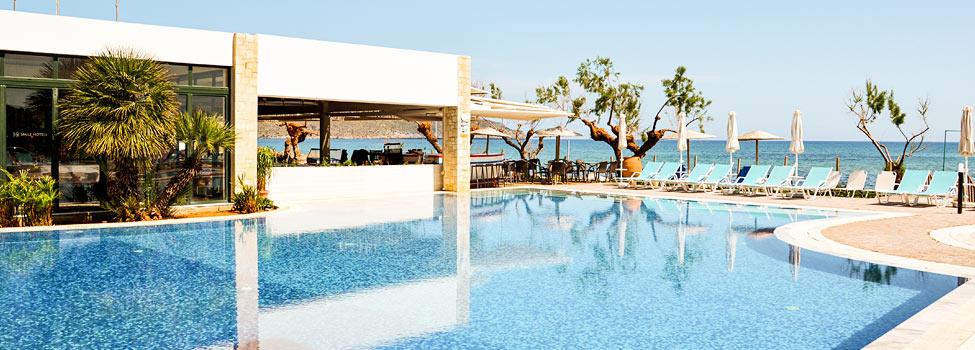 Iolida Beach, Hanian rannikko, Agia Marina, Kreeta, Kreikka