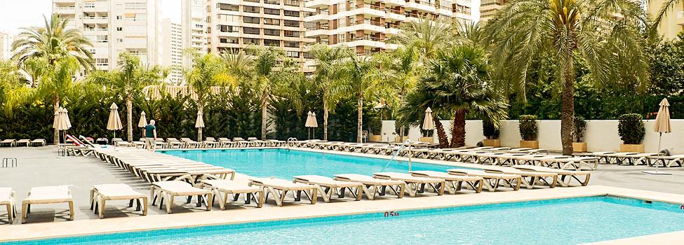 Flash Hotel, Benidorm, Costa Blanca, Espanja