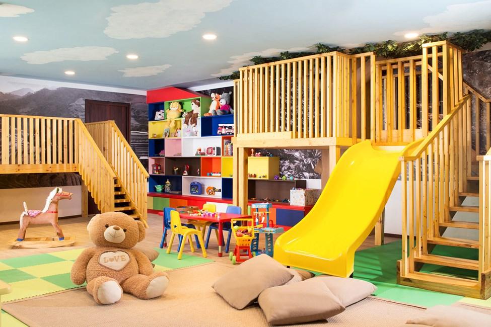 Hotellin leikkihuone