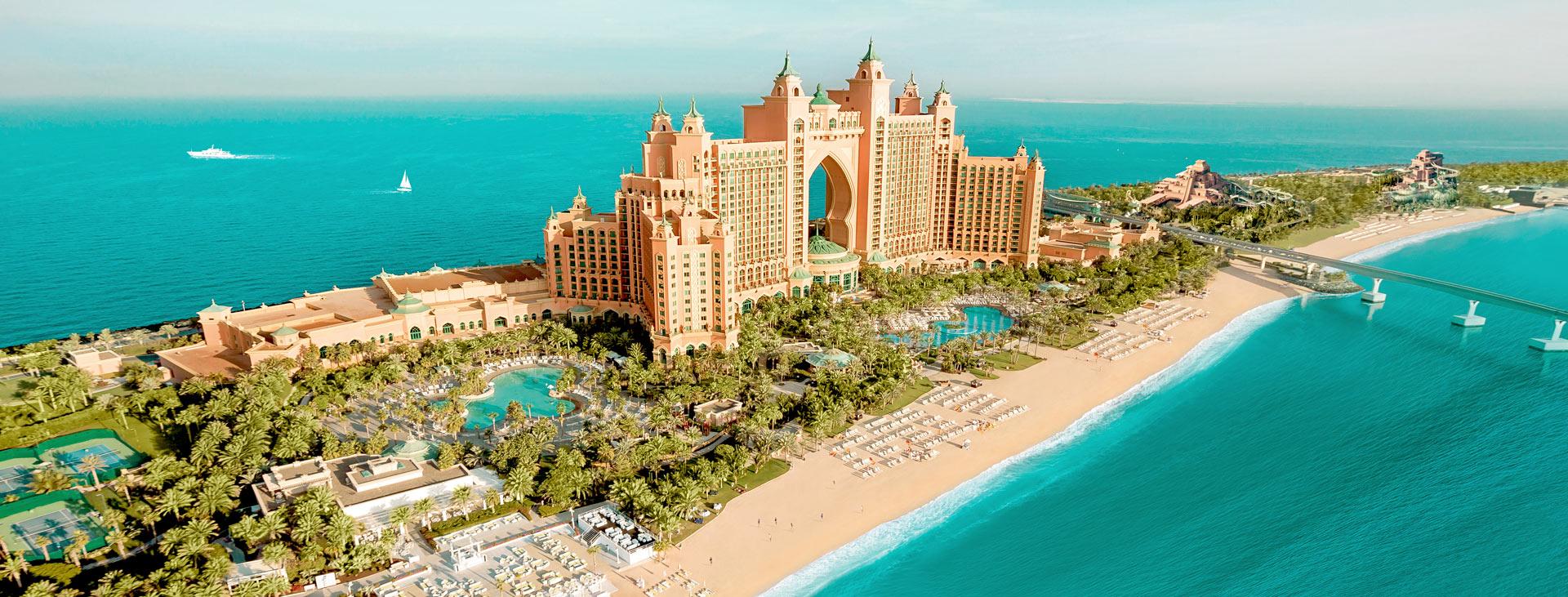 Atlantis The Palm, Jumeirah Beach, Dubai, Arabiemiraatit