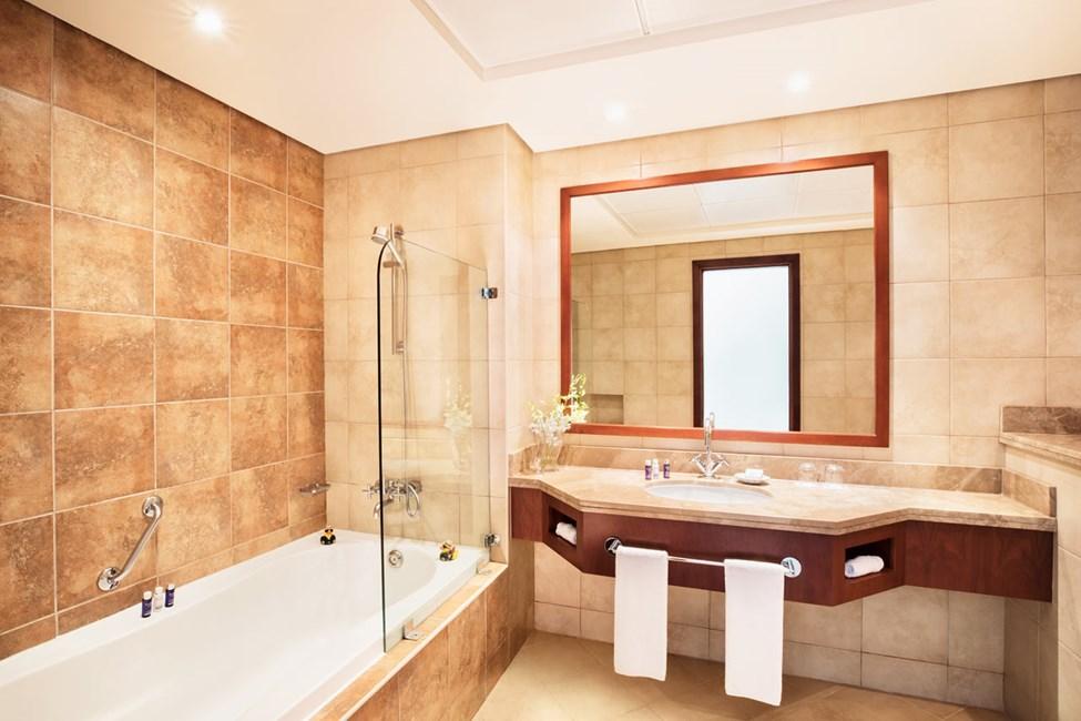 Esimerkkikuva huoneiston kylpyhuoneesta