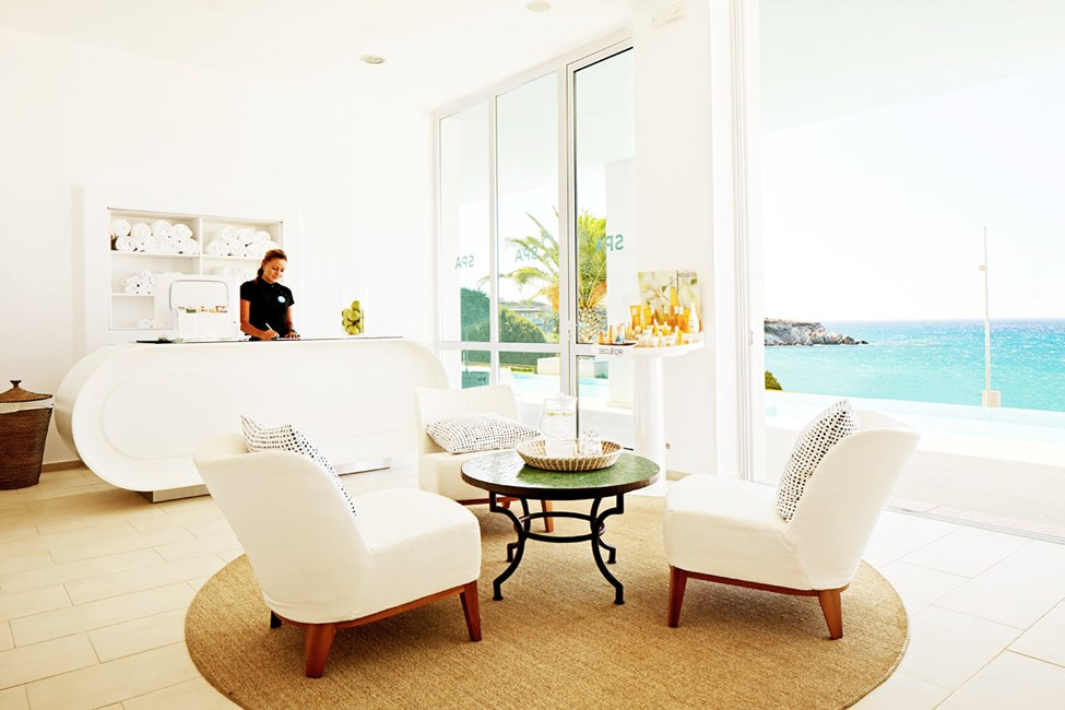Sisarhotelli Ocean Beach Clubin spa-osasto