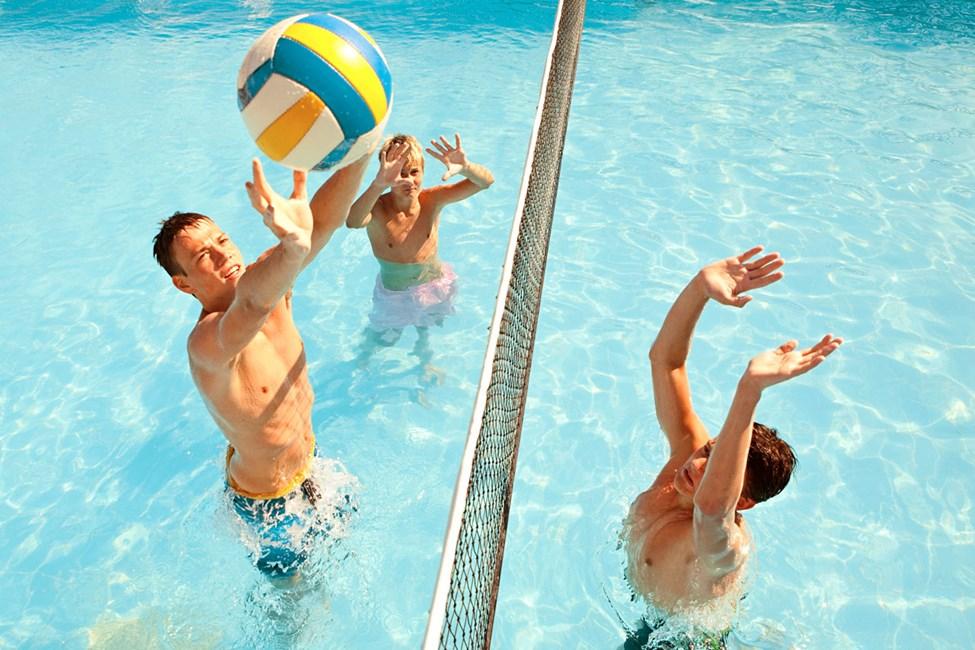 Osallistu myös altaassa järjestettäviin aktiviteetteihin!