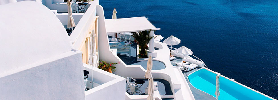 Katikies Hotel, Oia, Santorini, Kreikka