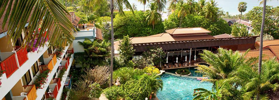 Karona Resort & Spa, Karon Beach, Phuket, Thaimaa