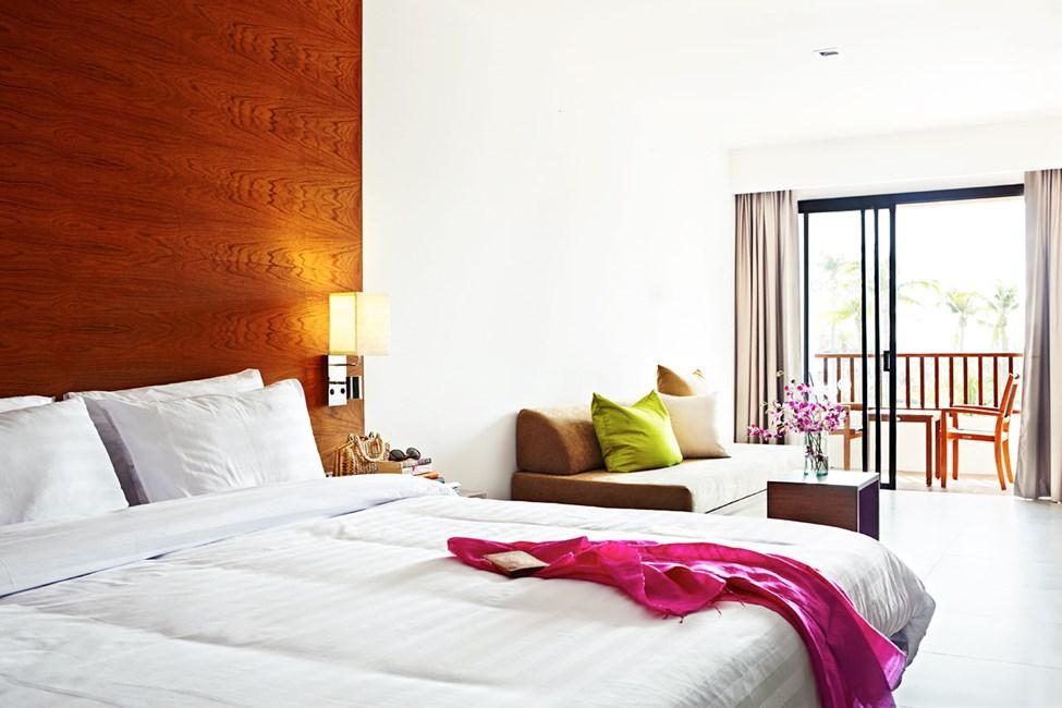 Classic Suite, jossa yhdistetty olo- ja makuuhuone