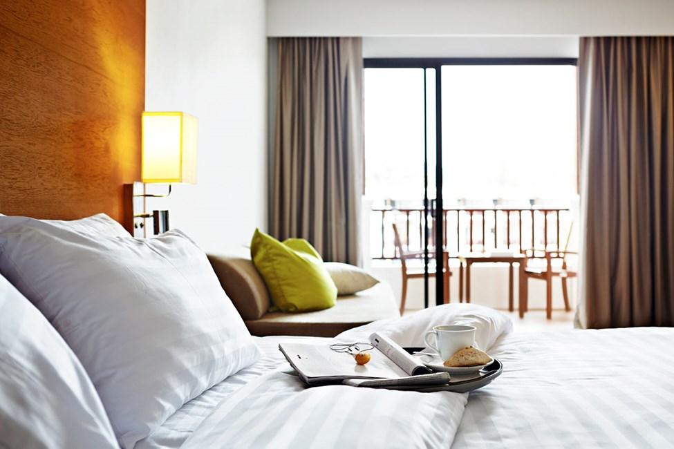 Kaikissa Classic Suite -huoneissa on parveke tai terassi
