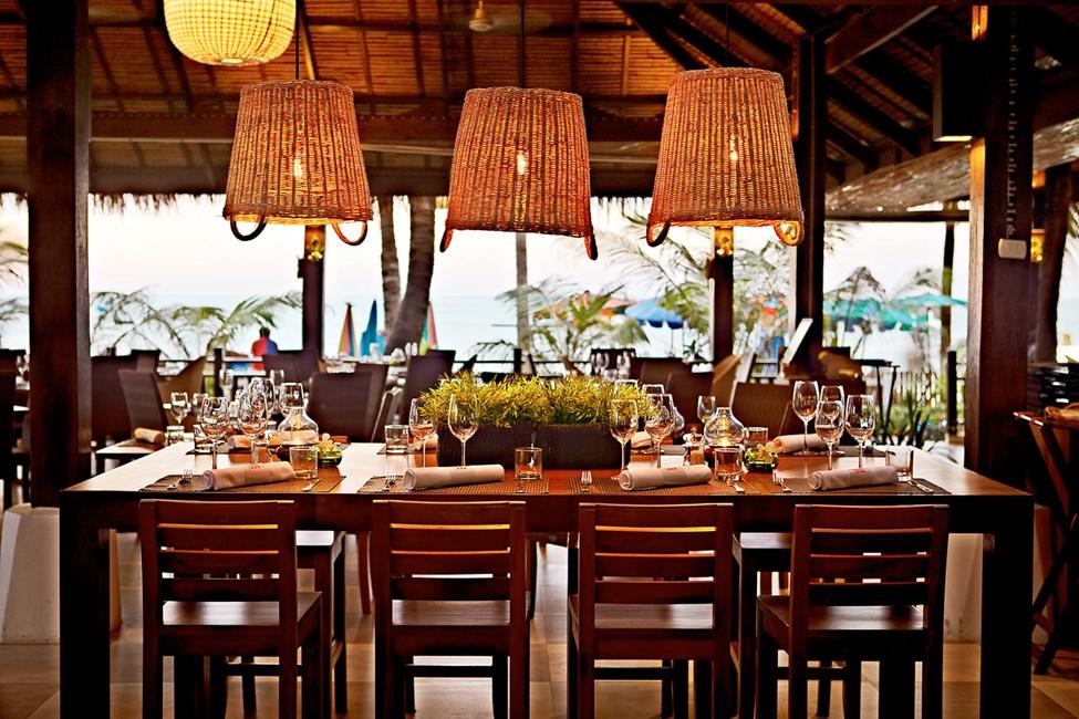 Näkymä Restaurant by the Sea -ravintolasta.