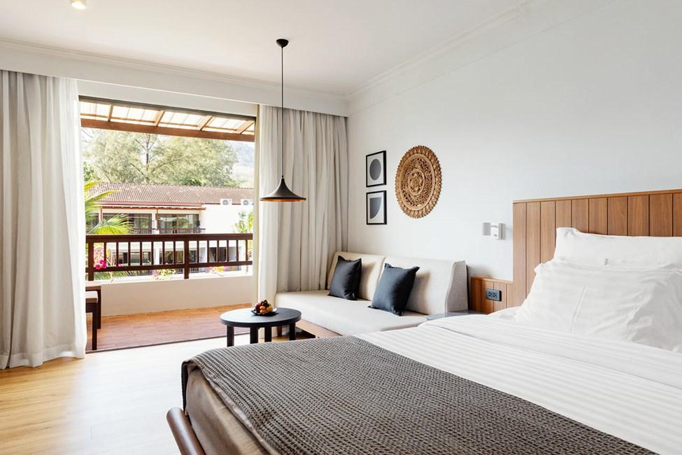 Classic Suite - 1 huone, kunnostettu kylpyhuone ja parveke puutarhaan päin