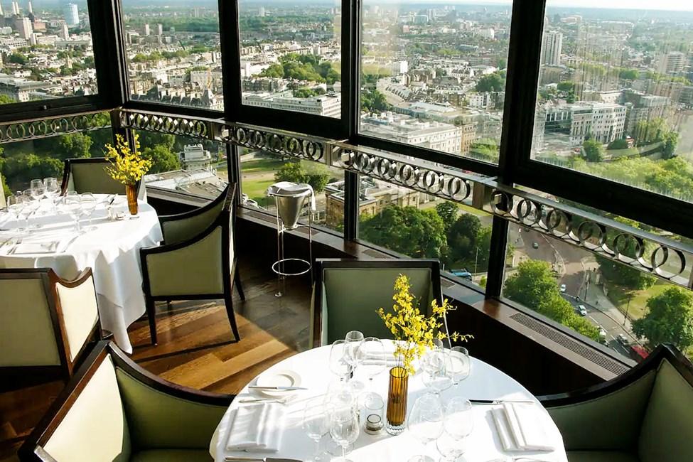 Michelin-tähden saanut ravintola, Galvin at Windows
