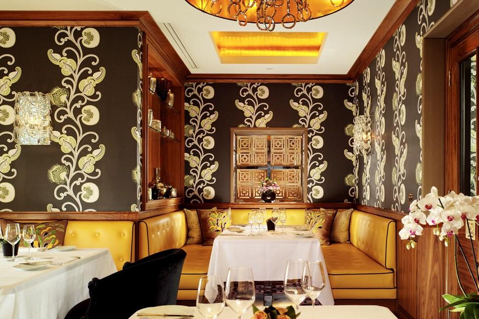 Hotellin palkittu Seven Park Place -ravintola