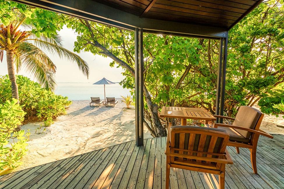 Kahden hengen Jacuzzi Beach Villa -huone