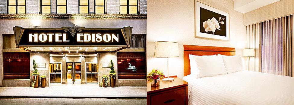 Hotel Edison, New York, Itäinen USA, Yhdysvallat