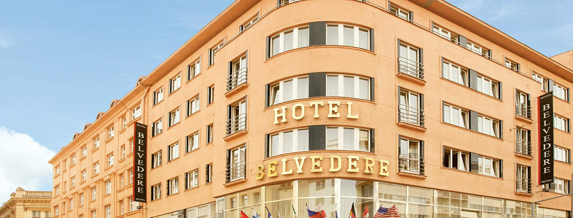 Hotelli Belvedere Praha Tjareborg
