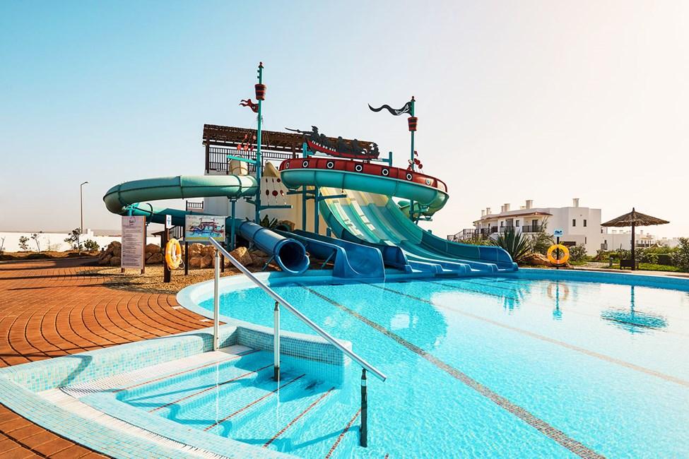 Vesipuisto Sol Dunas Resort -sisarhotellissa