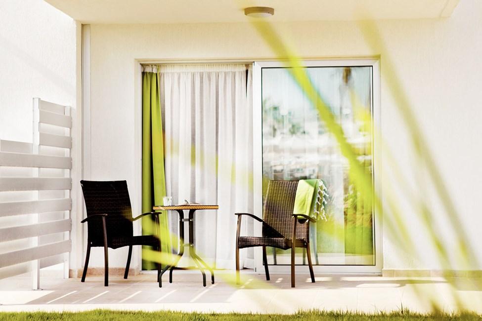 Classic Suite tai Junior Suite, terassi puutarhaan päin