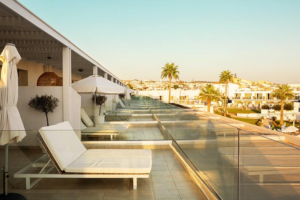 Prime Rooftop Suite, 1 huone, iso parveke allasalueelle päin