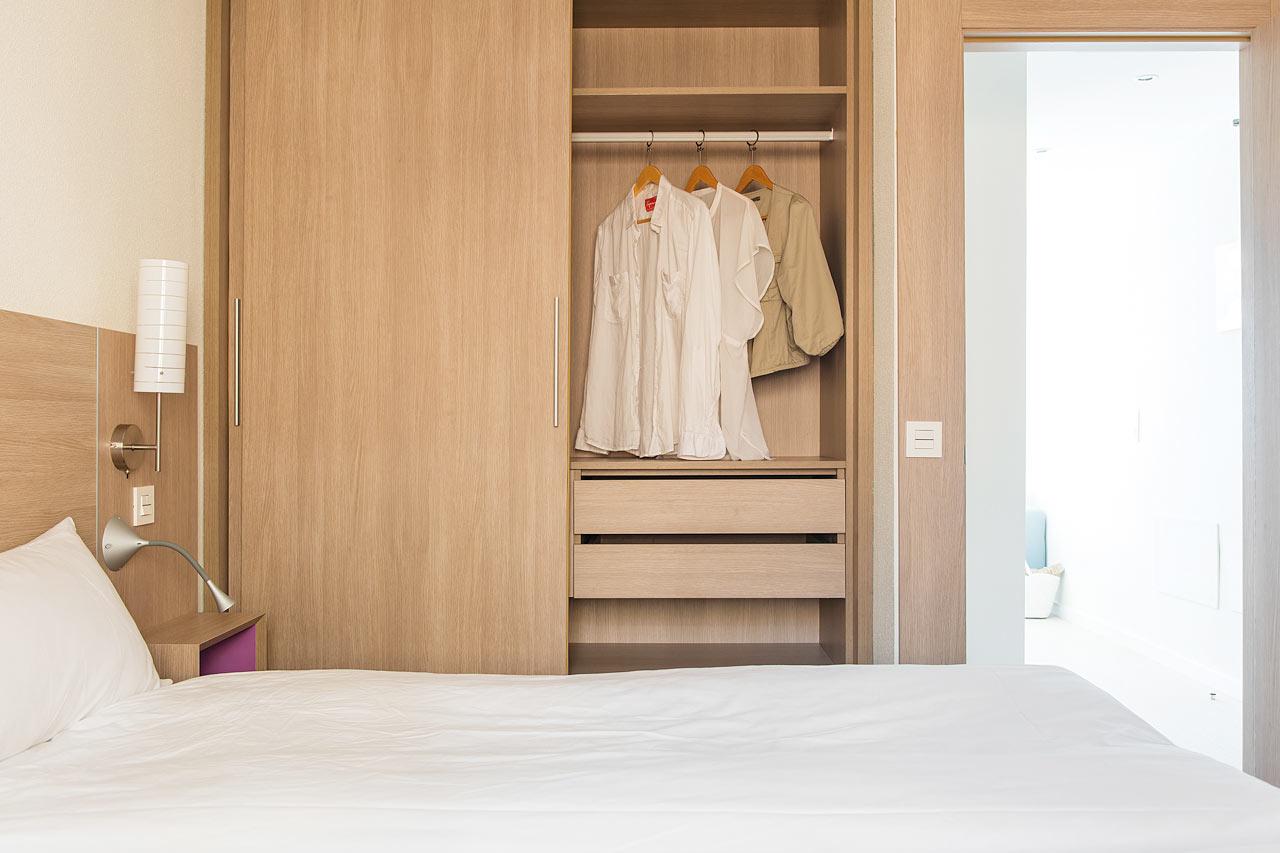 Duplettihuoneen makuuhuone