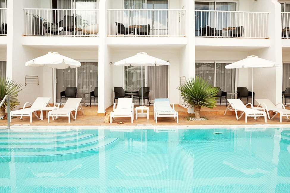 Prime Pool Suite, josta suora pääsy uima-altaaseen
