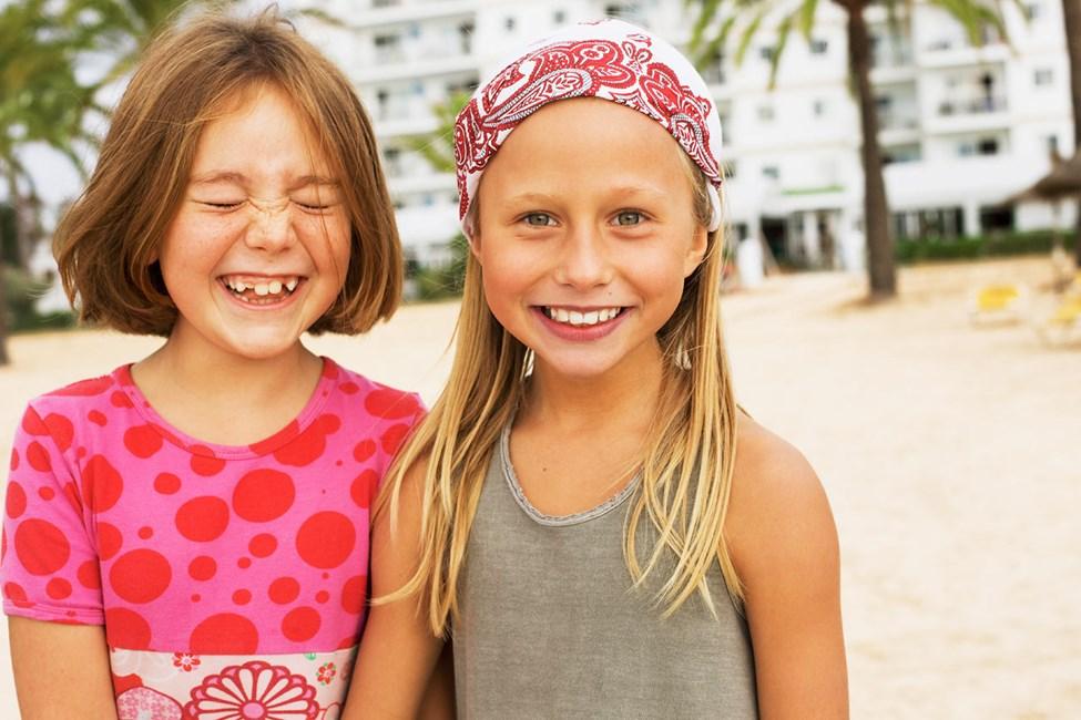 Sunwing Family Resorts -hotellissa järjestetään paljon aktiviteetteja sekä pienille että vähän suuremmillekin lapsille.