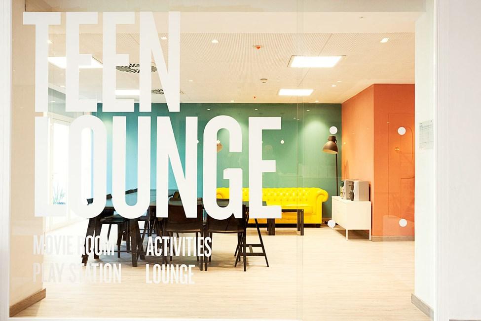 Teen Lounge Princesa-rakennuksessa