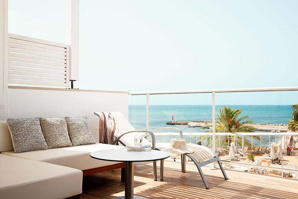 Prime Lounge Suite - 1 huone, suuri parveke ja merinäköala