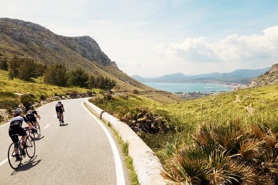 Mallorcalla on hyvät pyöräilymahdollisuudet